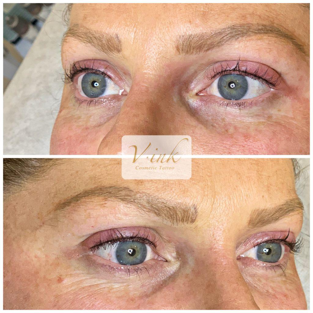 Eyeliner Tattoo Melbourne, Lash Enhancecment, Healed Eyebrow Tattoo
